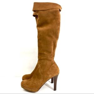 BROOKS BROTHERS WOMEN'S SUEDE BOOTS